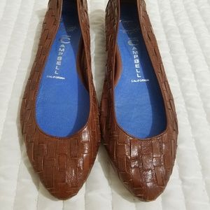 Jeffrey Campbell Leather Flats